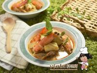 泰式酸辣海鮮雞湯