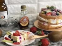 楓糖優格水果裸蛋糕