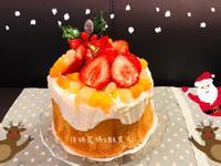 水果戚風蛋糕 (6吋/高)