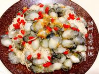 鮮蚵蒜香麵線