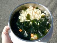 海藻蔬菜湯麵(2018.12.18)