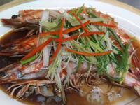 黃金蒜蓉蒸明蝦