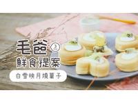 【毛爸鮮食】白雪映月燒菓子(寵物料理)