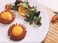 德式香腸花煎蛋