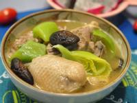 芥菜香菇雞湯