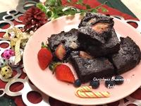 聖誕莓果布朗尼