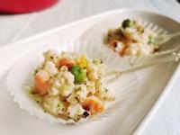 【義式白花椰偽燉飯】白醬花椰菜派對小點