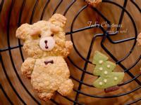 泰迪燕麥餅乾