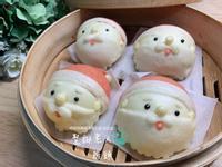 【造型饅頭】聖誕老人饅頭