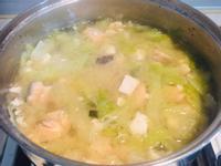 鮭魚菜菜味增湯🍲