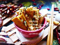 蒜頭炒豆乾