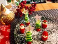 小黃瓜沙拉 聖誕樹 聖誕節食譜