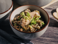 鮭魚藜麥炊飯
