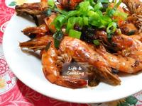【家常菜】香蒜胡椒蝦