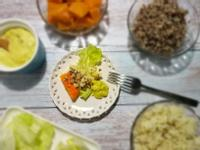 【歡樂派對彩蔬沙拉】南瓜白花椰菜藜麥酪梨