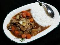 雞肉咖哩飯(01.04,五)