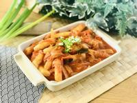 15分鐘料理.韓式泡菜炒年糕/0水鍋
