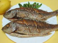 香煎黃雞魚