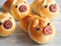 豬福小餐包【麥典實作工坊麵包專用粉】