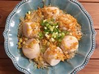 年菜料理-蒜香粉絲蒸干貝
