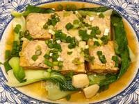 紅燒油豆腐香肉&煎豆腐蛋