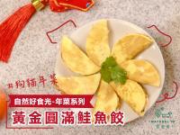 [寵物鮮食] 狗貓年菜!黃金圓滿鮭魚餃