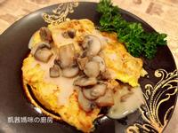 麥年雞排佐蘑菇醬🎶