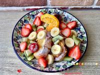 楓糖綜合水果🍌🥝🍓🍊法式吐司🍞