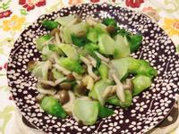 鴻喜菇炒娃娃菜