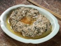 梅干菜蒸肉餅