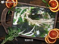 海帶芽金針菇湯