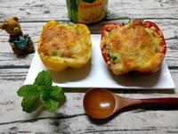 彩椒玉米粒焗飯