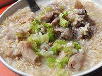【大同電鍋料理】糙米豬腸排骨粥