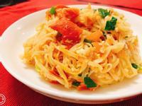 番茄蛋拌麵(五辛素/蛋奶素/無肉料理)
