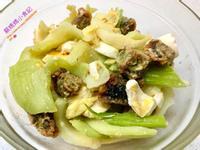 金銀燴芥菜