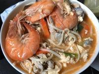 簡便海鮮湯麵