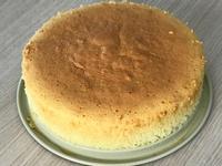 第一次做古早味海綿蛋糕 8吋不沾模