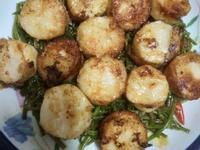 煎干貝水蓮菜