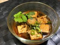 麻辣臭豆腐。電子鍋版