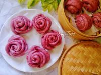 洛神玫瑰花饅頭(一般&玫瑰花造型)