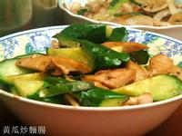 小黃瓜炒麵腸