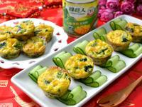 玉米菠菜起司烤蛋