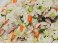 雞柳時蔬綜合燉飯