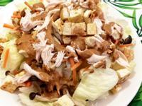 《胡麻醬》雞絲沙拉~低脂高蛋白