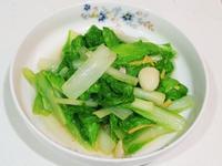 清炒小白菜,三分鐘上桌
