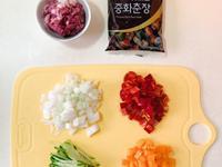 超簡易 韓式甜甜炸醬麵
