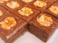 經典巧克力甜點-香蕉核桃布朗尼
