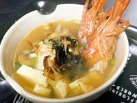 蝦頭扇貝味噌湯