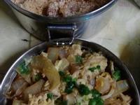鰹魚風味 の 豬排丼飯