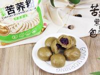 全麦苦荞紫薯包